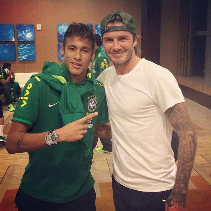 Neymar david beckham
