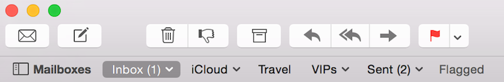 Redesigned icons