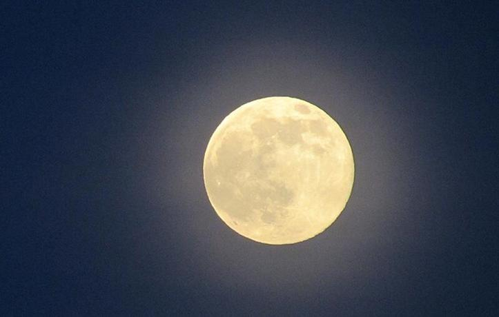 Super Moon In Japan July 12th