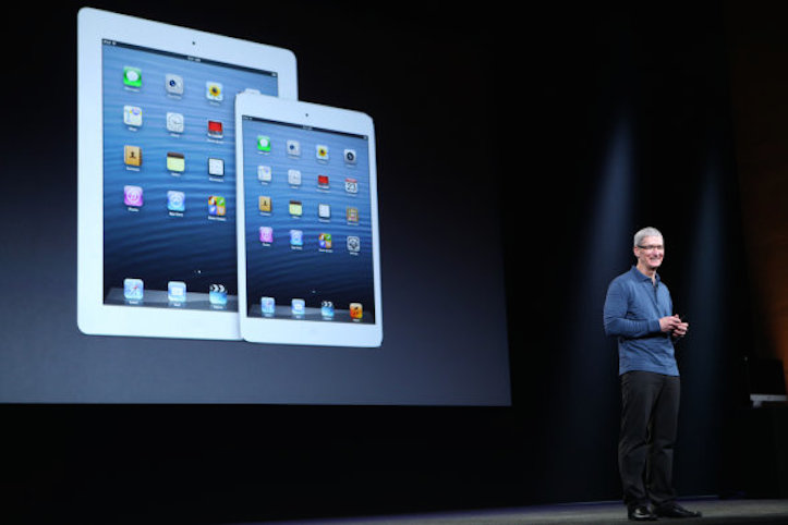 Tim cook and ipad