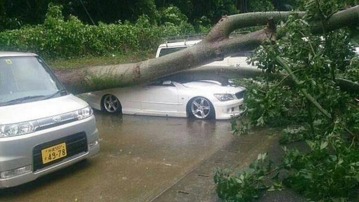 台風8号の被害は既に尋常ではない