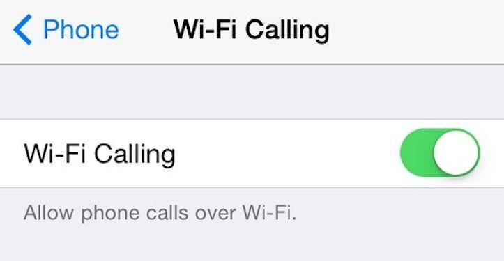 Wi-Fi経由で電話