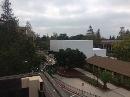 Apple Event White Building