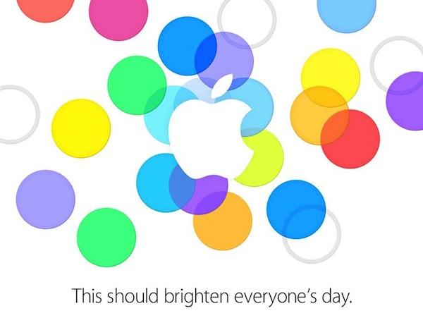 Apple invite September 10 2013