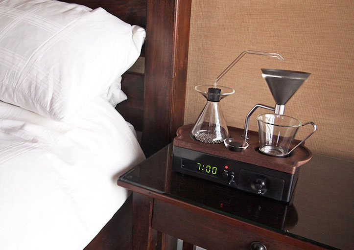 Alarm clock and coffee maker 1