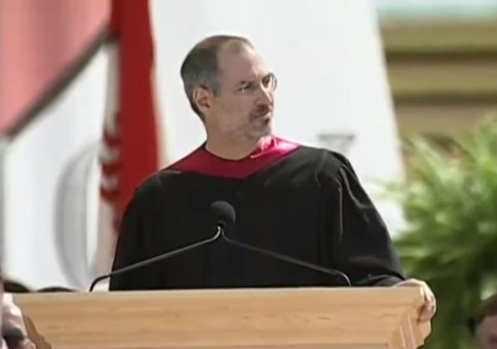 スティーブ・ジョブズのスタンフォード大学の卒業スピーチ