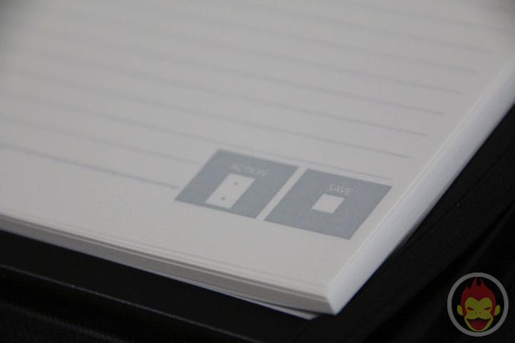 CamiApp S ー ノートブックタイプとメモパッドタイプ
