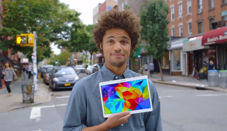 Galaxy Tab S hands on