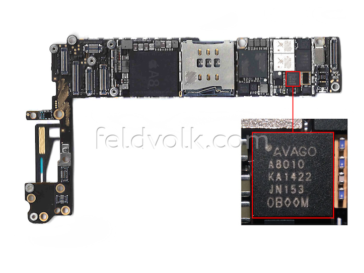 IPh6 motherboard6