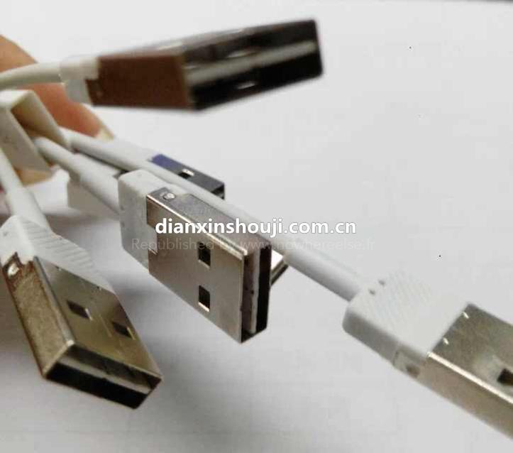 iPhone 6に同梱されるLightning USBケーブルはリバーシブル…?