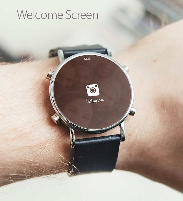 Instagram for android wear