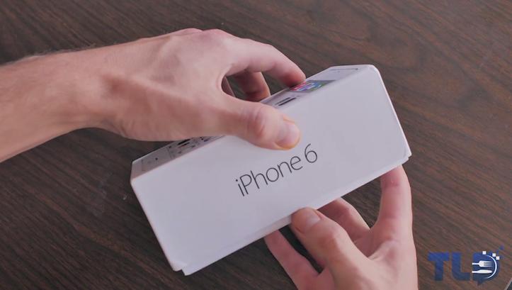 iPhone 6のクローンの開封動画