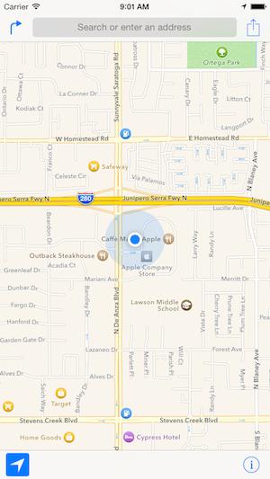iPhone 6 414x736  maps