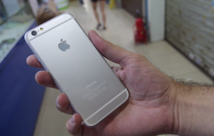 iPhone 6のAndroid