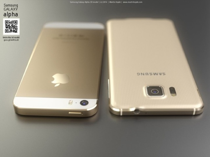 iPhone 6 vs Galaxy Alpha
