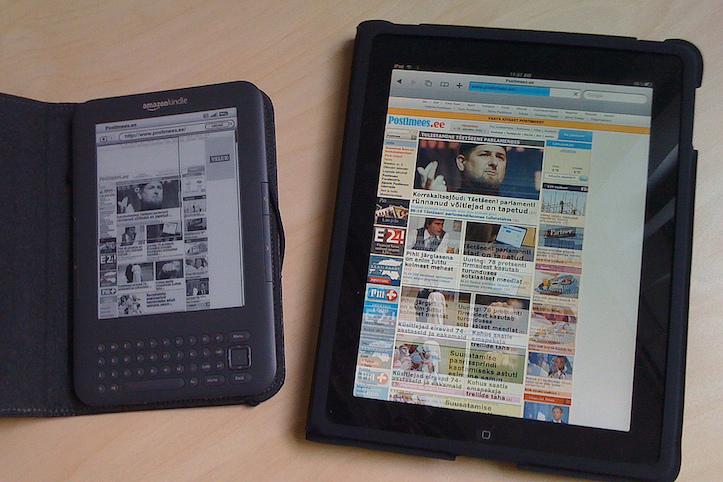 Kindle Fire and iPad