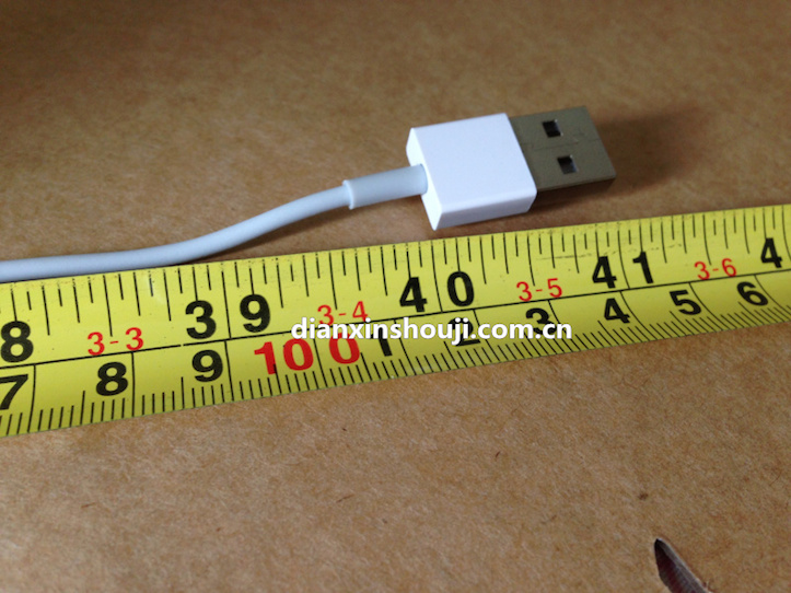 Lightning cable reversible usb