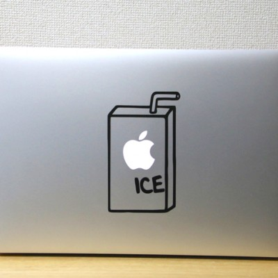 macbook ステッカー