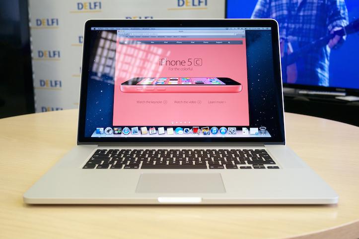 MacBook Pro Retina 15インチモデル