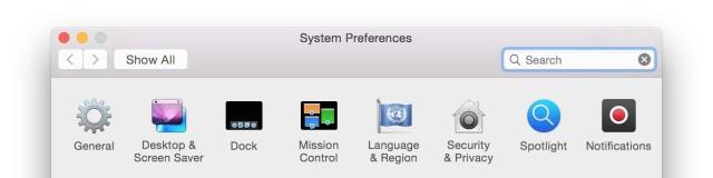 OS X Yosemite Preview 5