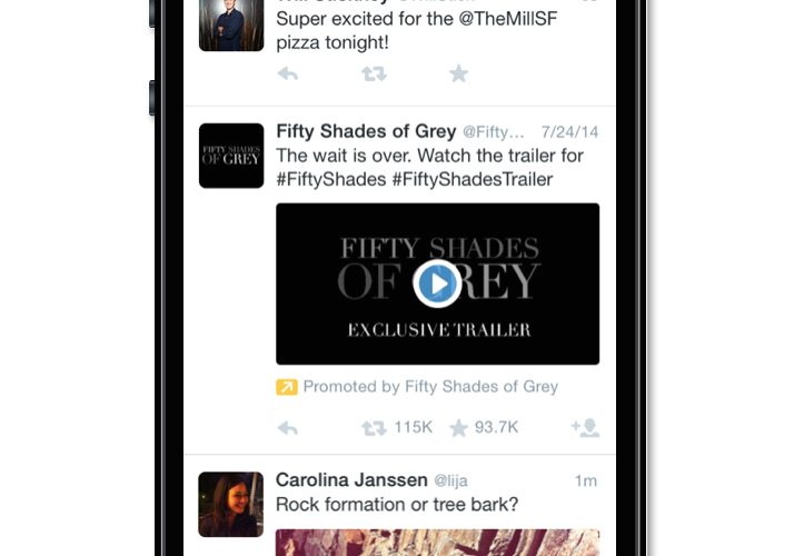 Twitter testing video advertisements