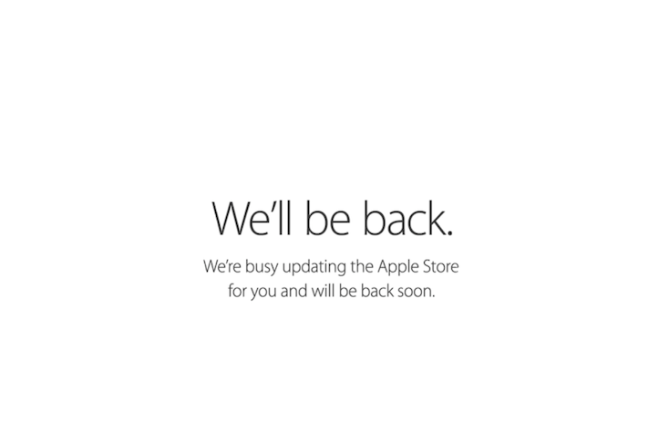 Apple store well be back