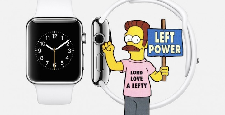 Apple watch for lefties