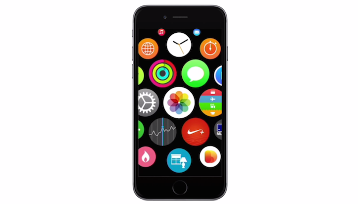 Apple watch os on iphone