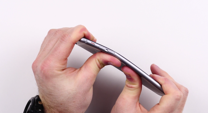 Bendable iphone 6 plus