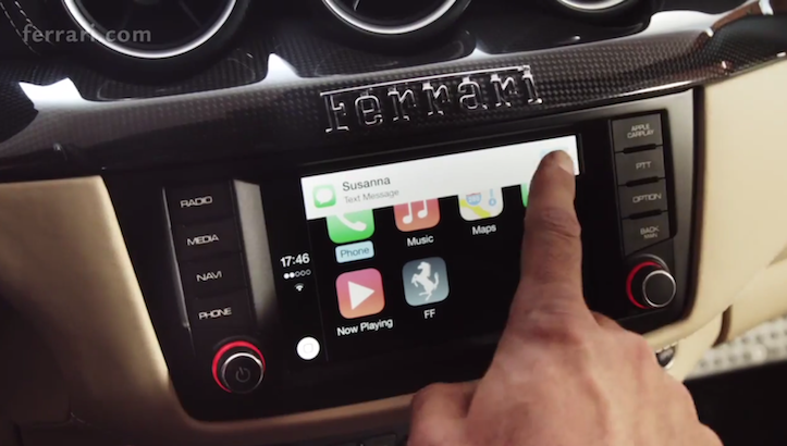 Ferrari carplay