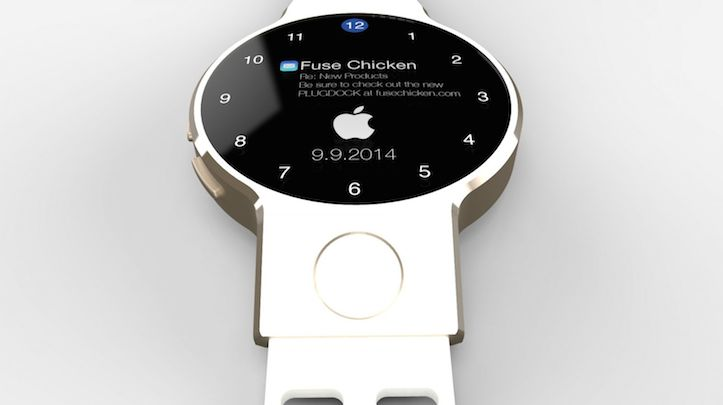 IWatch with circular face