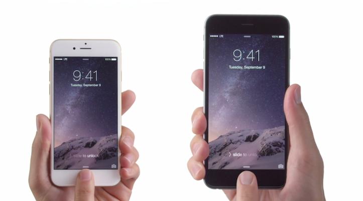 Iphone 6 6plus tvcm