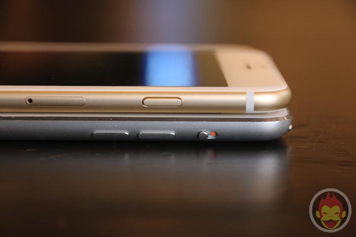 iPhone 6 Plus・iPad mini・iPhone 5sの外観比較