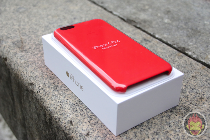 iPhone 6 Plus Silicon Case Product Red