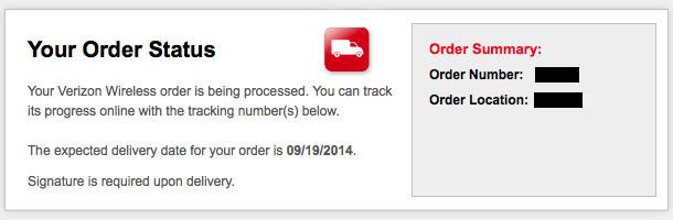 Iphone 6 shipments