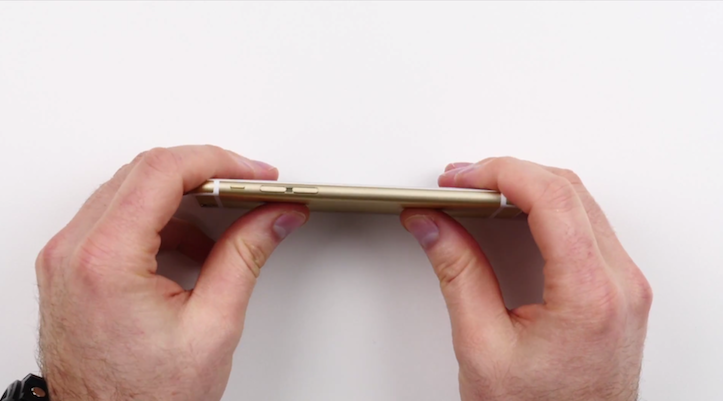 Iphone6 bend test