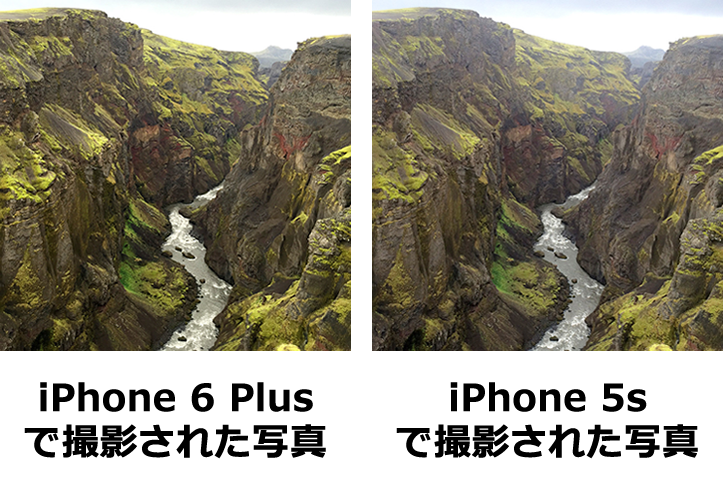 Iphone6plus iphone5s comparison