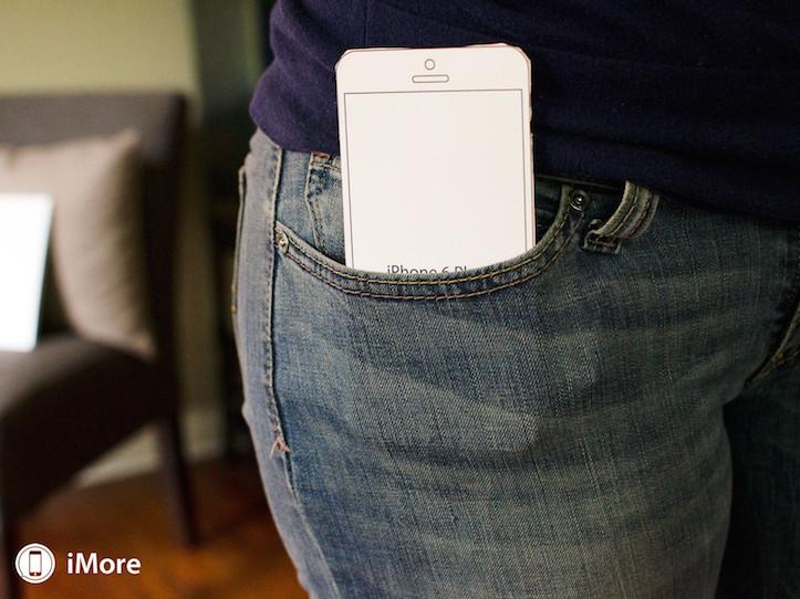 Iphone 6 plus front pocket