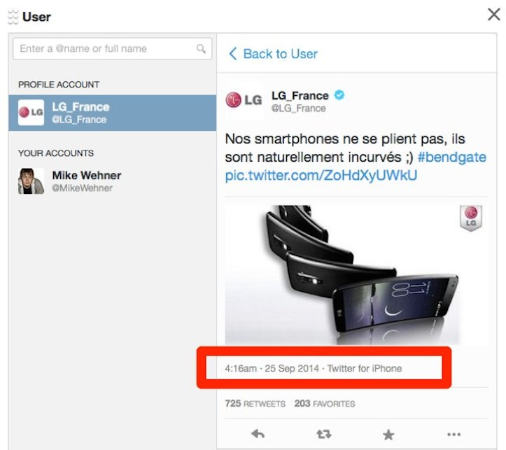 Lg france tweeting from iphone 1