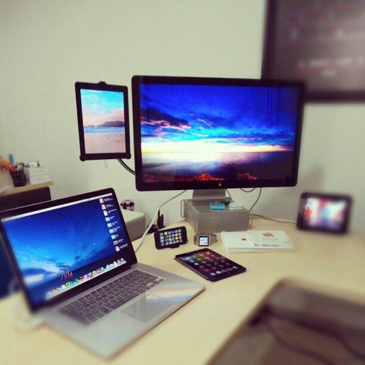 Mac thunderbolt display workstation
