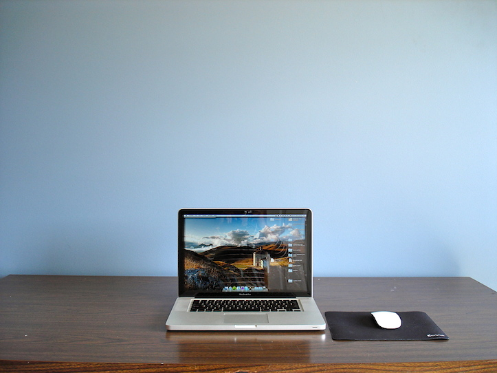 Macbook pro workspace
