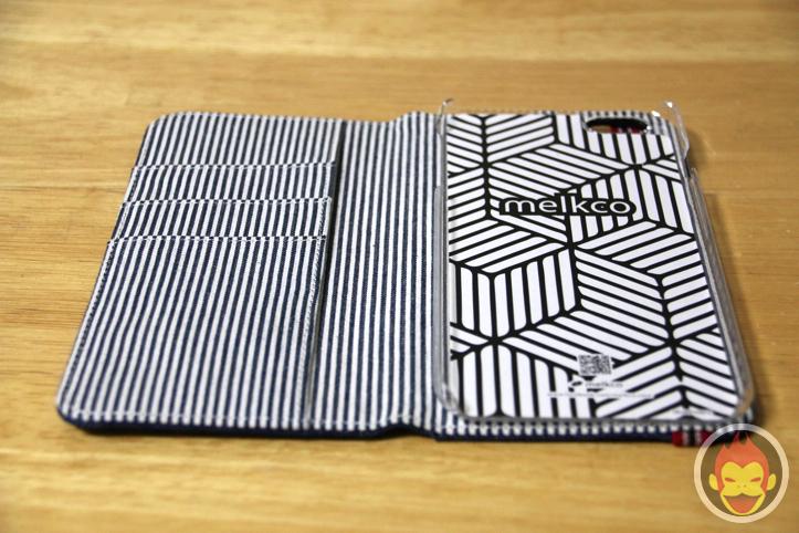 melkco製のブックタイプデニムケース