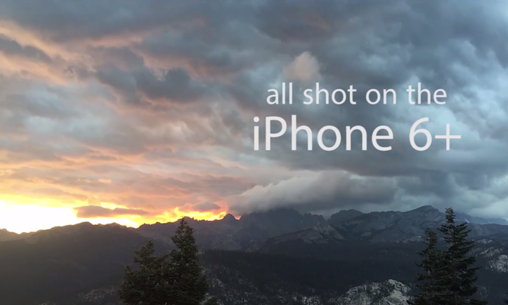 Shooting video with iphone 6 plus