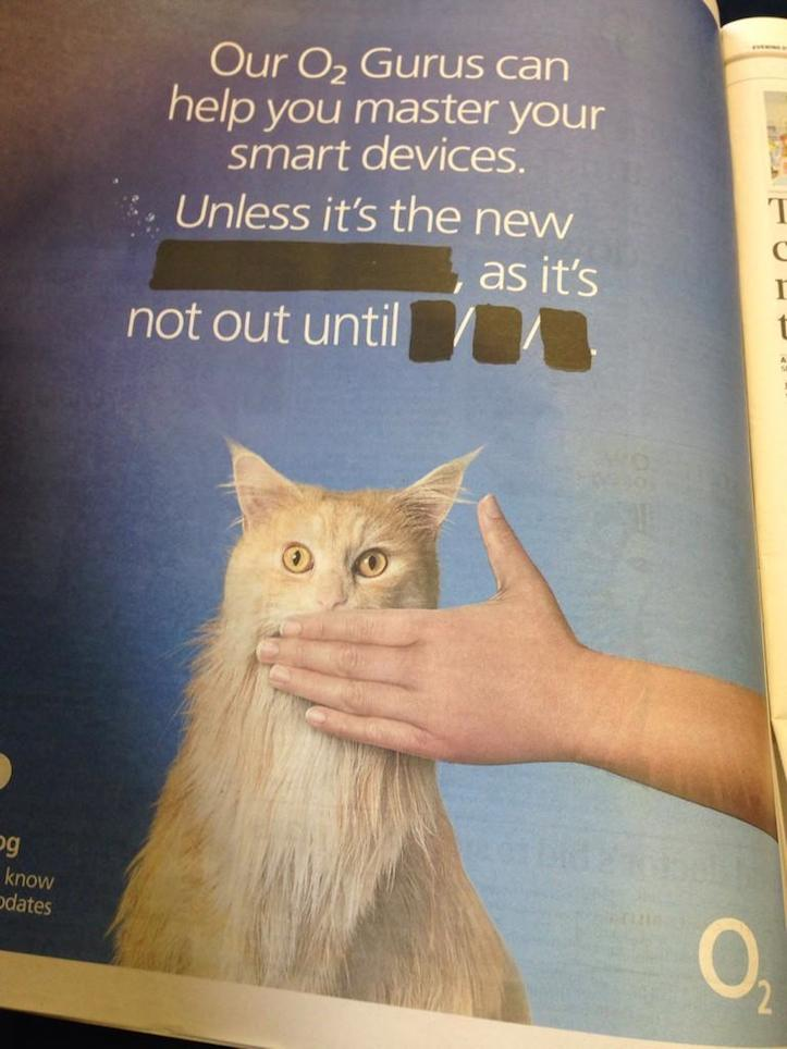 Uk o2 carrier ad