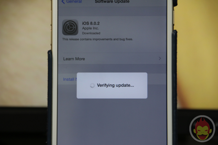 Updating to iOS 8.0.2