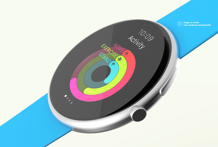 What if the Apple Watch was ROUND