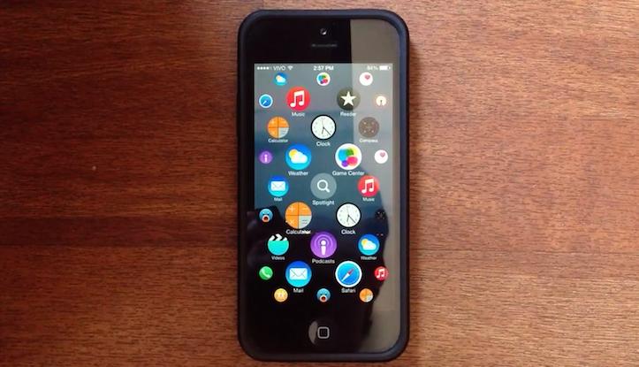 Apple watch iphone concept