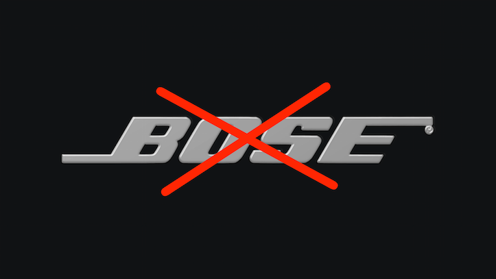 Bose Apple Storeから削除