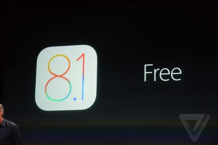 iOS 8.1正式リリース