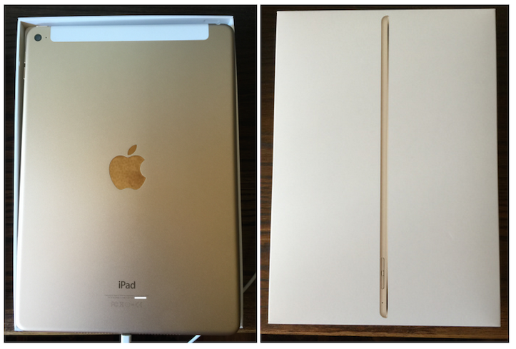 iPad Air arriving